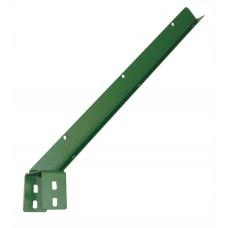 Кронштейн Г-образний ОЦ+ППЛ на профіль 80х60 для кріплення колючого дроту