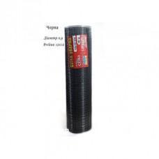 Сетка сварная штукатурная ячейка 12х12мм ф0.9хк высота 1м длина 30м