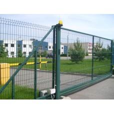 Ворота відкатні сітчасті 3D/2D 1.5м L=3.0м