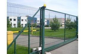 Ворота откатные сетчатые 3D/2D 2.4м L=4.0м