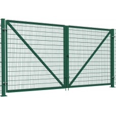 Ворота распашные сетчатые 3D 2.0м L=3.0м