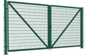 Ворота распашные сетчатые 3D 1.26м L=3.0м