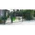 Ворота распашные сетчатые 3D 1.7м L=5.0м
